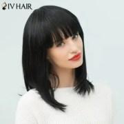 2018 siv hair long neat bang straight