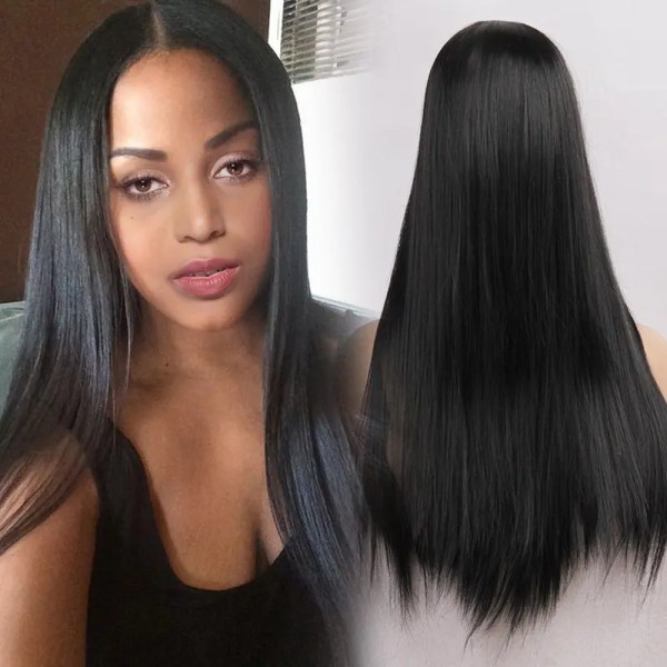 Middle Part Sew In Straight Hair Anexa Beauty Imgurl