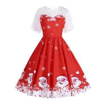 Christmas Dresses Cheap Casual Style Online Free Shipping