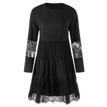 Dress with Slip Dress