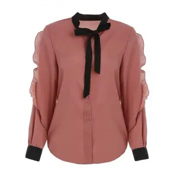 Buttoned Front Blouse