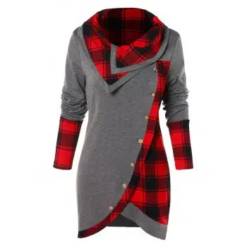 Long Sleeve Asymmetrical T shirt