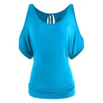 Open Shoulder T shirt