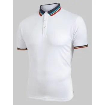 Half Button T shirt