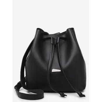 String Bucket Crossbody Bag