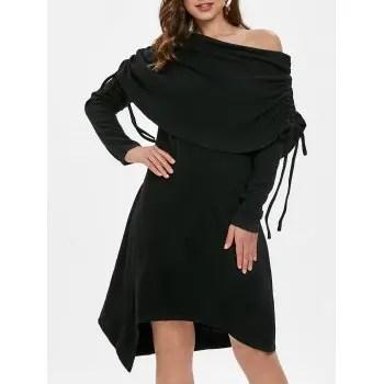 Asymmetrical Tunic Dress