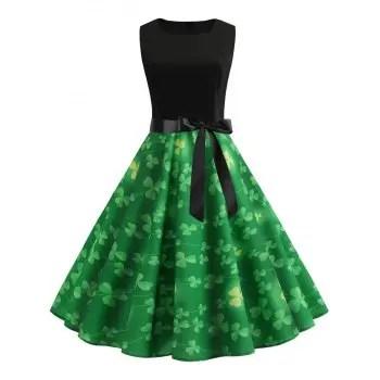 Clover Vintage Dress