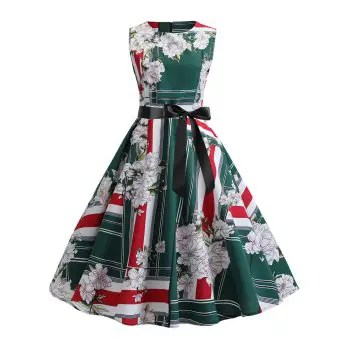 Flower Vintage Dress