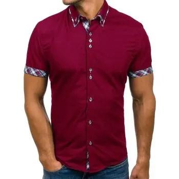 Double Collar Slim Fit Shirt