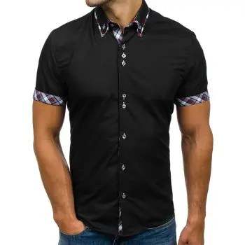 Double Collar Slim Fit Shirt