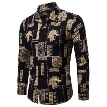 Long Sleeves Casual Shirt