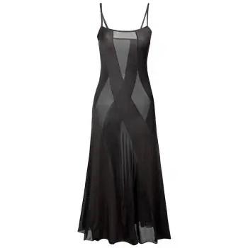 Voile Panel Night Dress