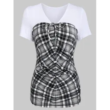 Ruched T Shirt