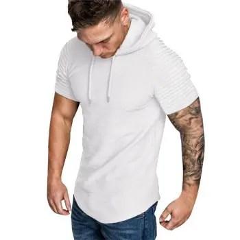 Hooded T shirt