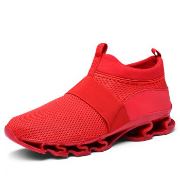 Comfortable Solid Color Sneakers
