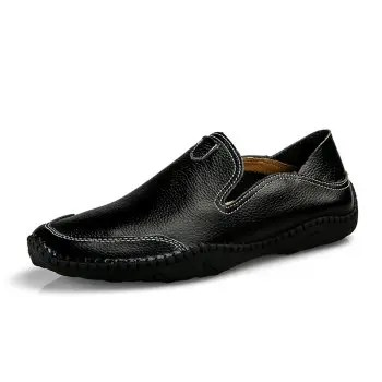 Leather Casual Loafer Shoes for Man