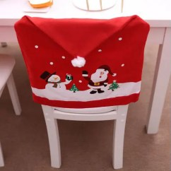 Chair Cover Christmas Decorations Pottery Barn Bean Bag Chairs 41 Off 2019 Non Woven For Decoration In Red