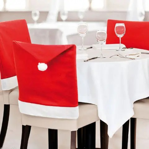 grey christmas chair covers wheel prices in zimbabwe 2019 hat pattern big cover 2pcs red dresslily com