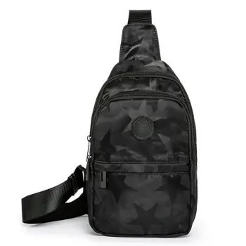 Men s Fashion Trend Casual Sports Chest Bag