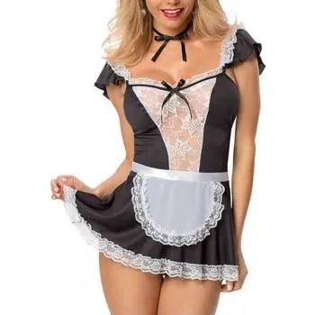 Women Naughty Dress Maid Costume