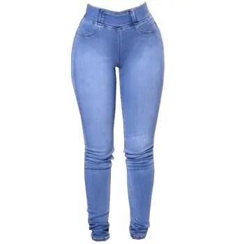 Womens Fashion Slim Fit Stretchy Skinny Jeans