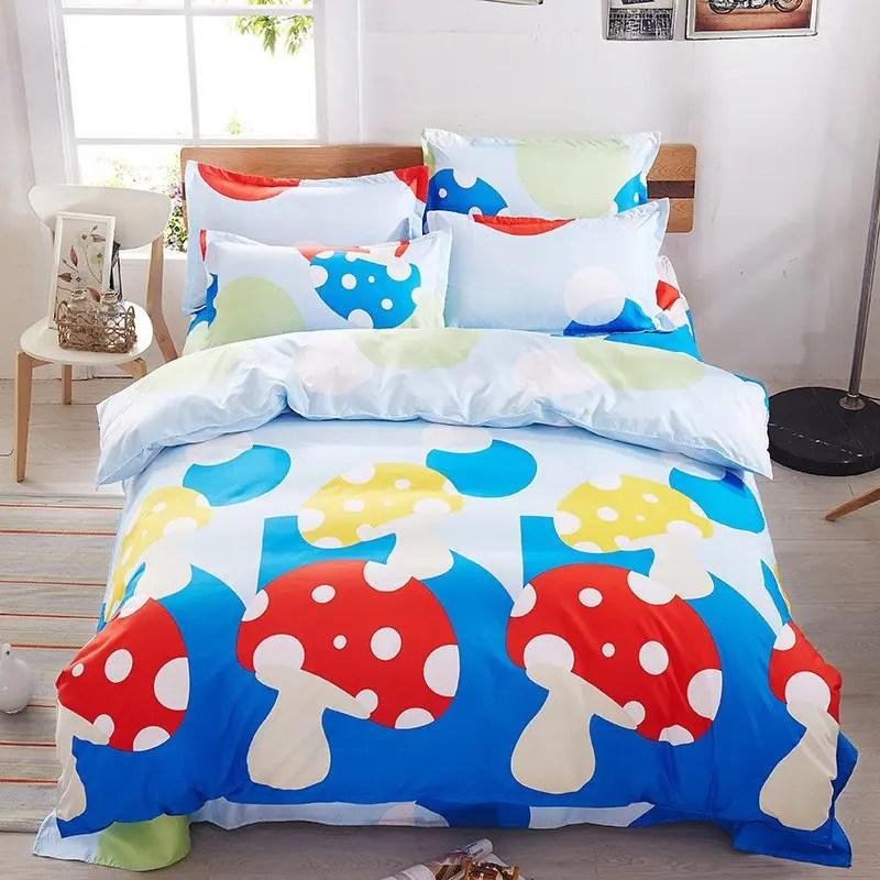 ensemble de literie haut de gamme en coton aloe vera pour lit simple d enfants