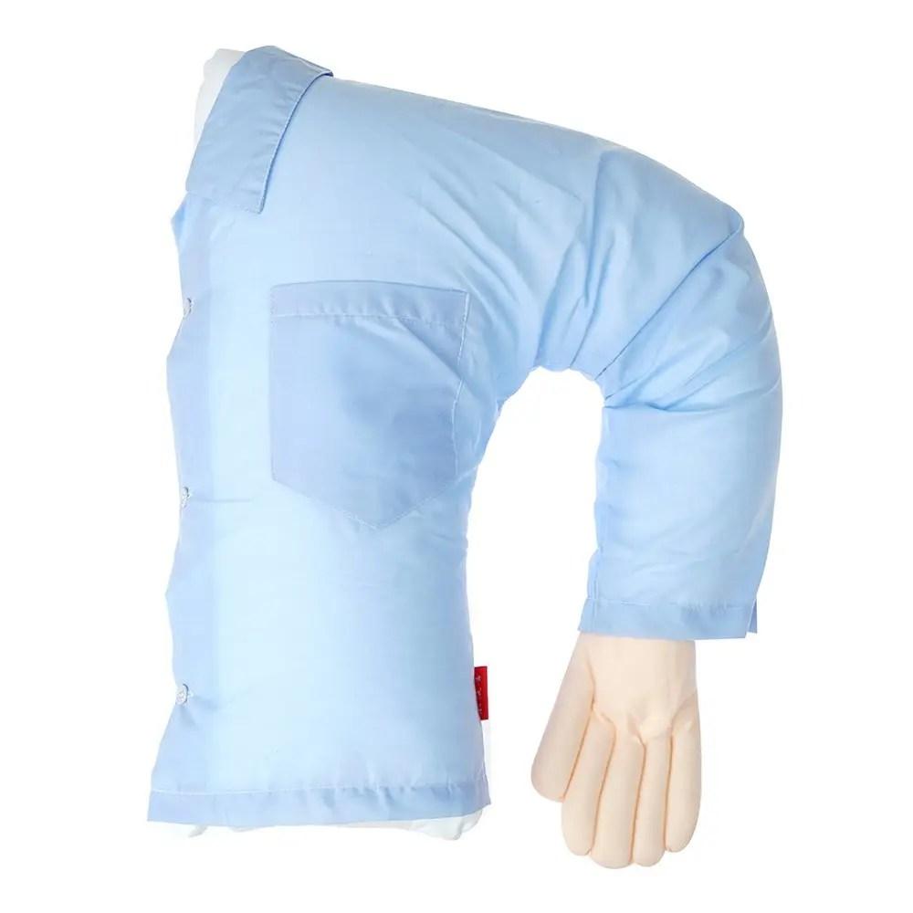 2018 Creative Granular Boyfriend Pillow Cushions BLUE In