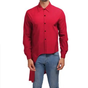 Men s Evening Dress Shirt Gentleman Tuxedo