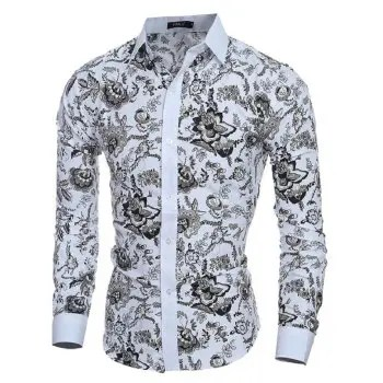 2018 New Classic Style Wind Men s Casual Slim Long sleeved Shirt