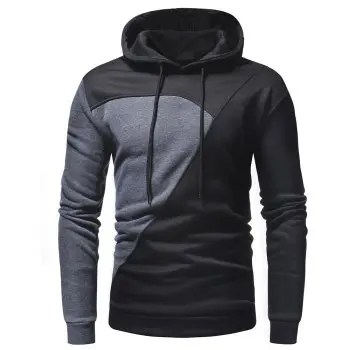 Men s Casual Fashion Stitching Sweater
