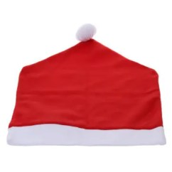 Grey Christmas Chair Covers Zero Gravity Oversized 2019 Online Store Best Santa Claus Hat Back Cover Red 1pcs For Party