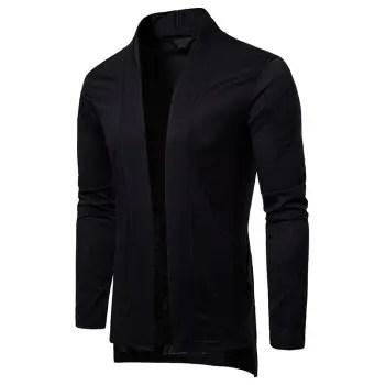Men s Fashion Casual Long Cardigan