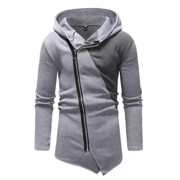 Men s Fashion Irregular Design Hoodies