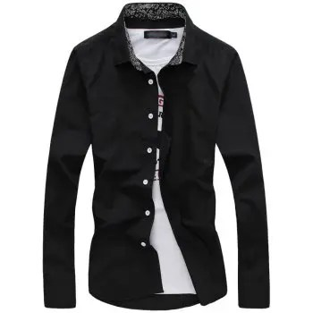 Fashion and Business Man S Long Sleeve Shirt