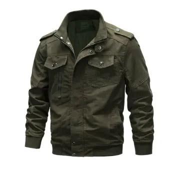 Cotton Jacket Coat Army Men s Pilot Jacket Air Force Autumn Casual