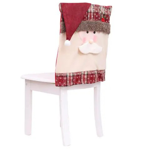crochet christmas chair covers upholstered folding chairs 2019 for decoration in multicolor a pack of 1