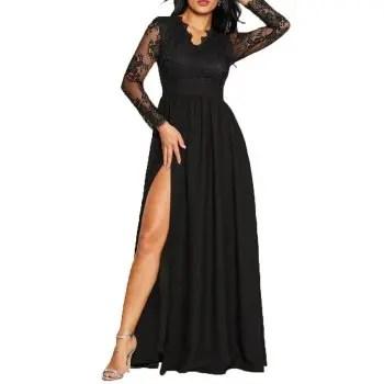 Women s Sexy Lace Evening Dress