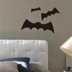Bat Living Room Painting Your White 2019 Three Bats Wall Stickers For Background Decoration Black 39 57cm