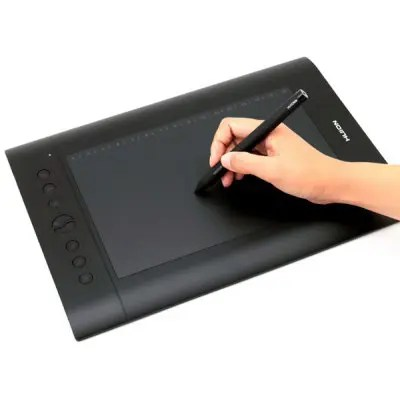 Huion H610 Pro Professional Art Drawing Graphic Pad and Pen Kit