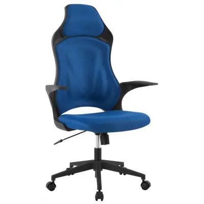 mesh gaming chair swing online in india de mct266 blue langria ergonomic high back office executive 360