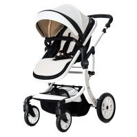 Foldable High Landscape Baby Stroller