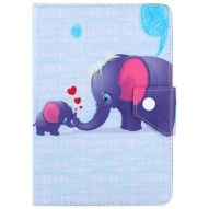 SZKINSTON Elephant Family Style Protective Case for 10 inch Tablet PC