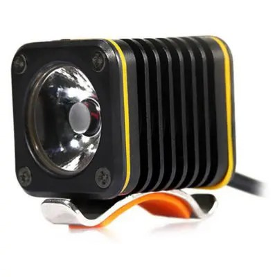 Mini 5V USB Bike Headlight - BLACK