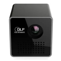 UNIC P1+ LED Portable 30 Lumens DLP Home Movie Theater Projector