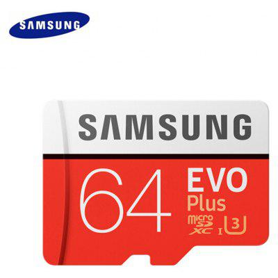 Gearbest Original Samsung UHS-3 64GB Micro SDXC Memory Card - 64GB ORANGE 100MB/s Class 10 Water Resistant / Anti-magnetic / X-ray Proof TF Cards