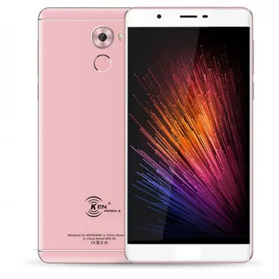 Ken XinDa V9 2GB RAM 16GB FHD Display Rose-Gold Color 4G Phablet