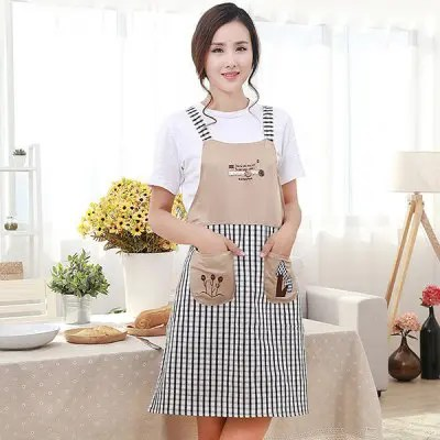 Gearbest Embroidery Durable Comfortable Apron
