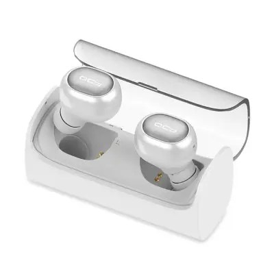 Gearbest QCY Q29 Pro In-ear TWS Bluetooth Double Headset - WHITE