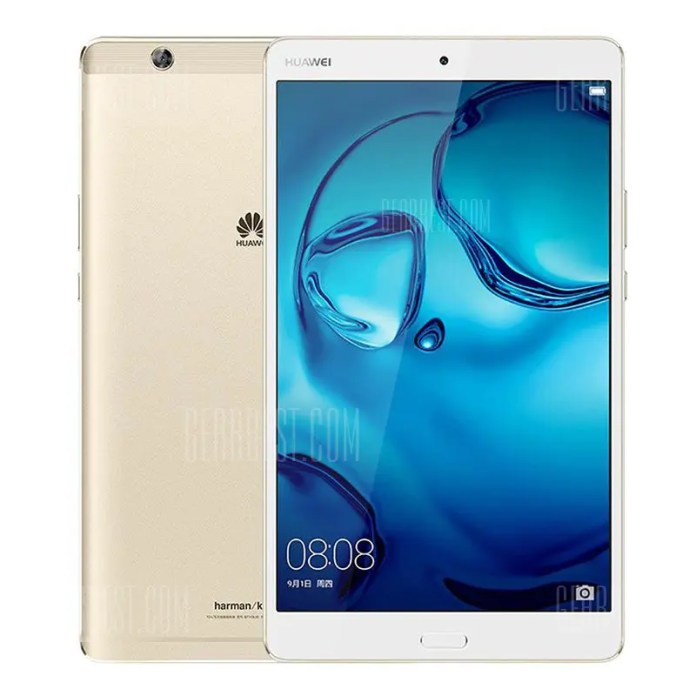 Huawei M3 ( BTV-W09 ) Tablet PC Fingerprint Sensor