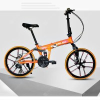 SMLRO MX690 20 inch 24 Speed Folding Mountain Bike